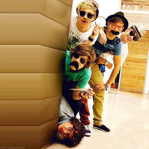 One Direction wallpaper possibly containing sunglasses titled cute-funny-one-direction