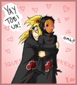 deidara and tobi - deidara photo