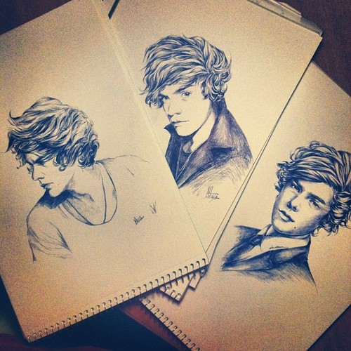 Harry Styles achtergrond titled fan art