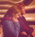 filming - rupert-grint-and-emma-watson photo