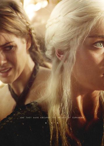 Daenerys Targaryen & Doreah