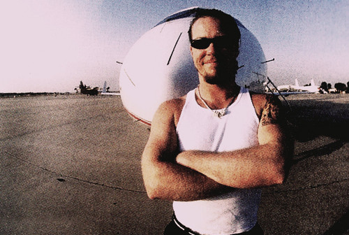 James Hetfield wallpaper with a parasol titled james