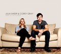 julia sheer and corey gray