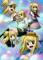 lucy everywhere - erza-and-lucy photo