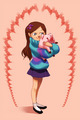 mabel - gravity-falls fan art