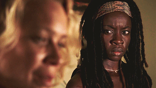 Michonne Обои probably containing a portrait entitled michonne