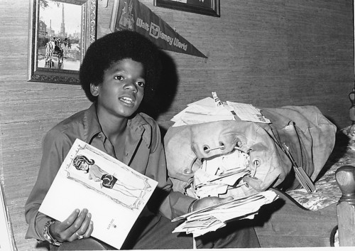 Michael Jackson wallpaper with a newspaper and a sign titled my darling baby,you are my life
