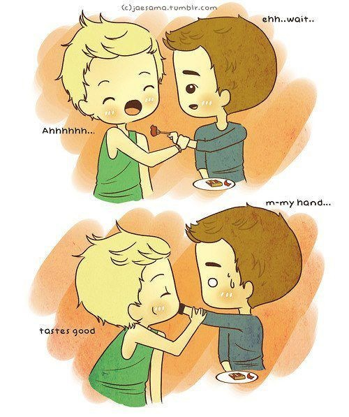 One Direction niall and liam cartoon