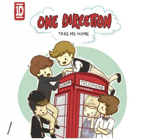 one direction,'Take Me Home'