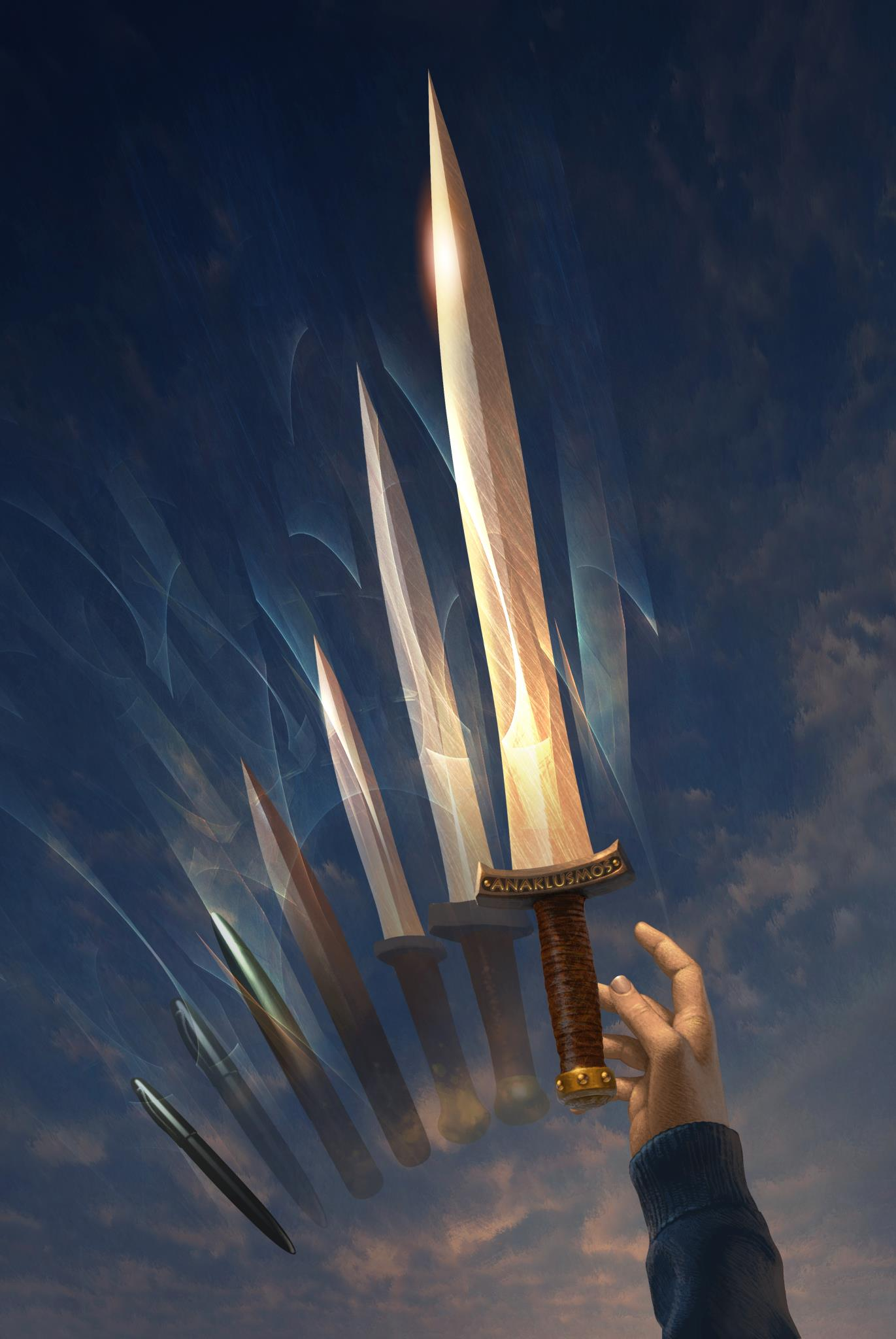 From the Percy Jackson Sword Riptide