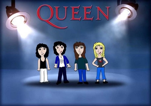 queen cartoon