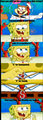 sandy, spongebob & the worm - spongebob-squarepants photo
