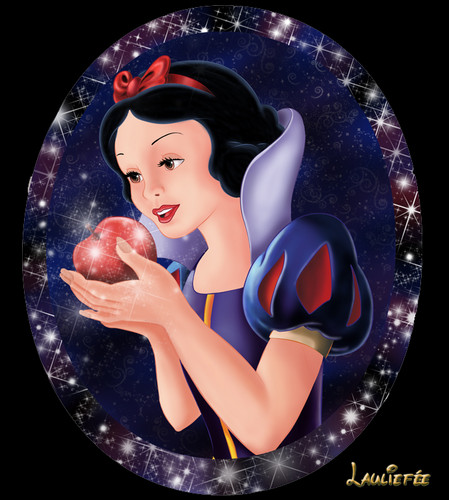 Snow White kertas dinding called snow white