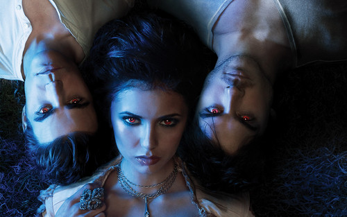 the vampire diaries elena damon stefan