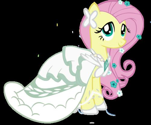 My Little Pony Friendship is Magic wallpaper titled wedding fluttershy