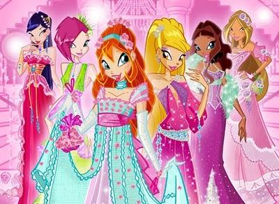 winx princesses
