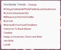 worldwide trend 07/11/2012 - blair-and-chuck photo