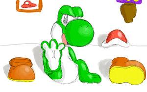 yoshi's feet