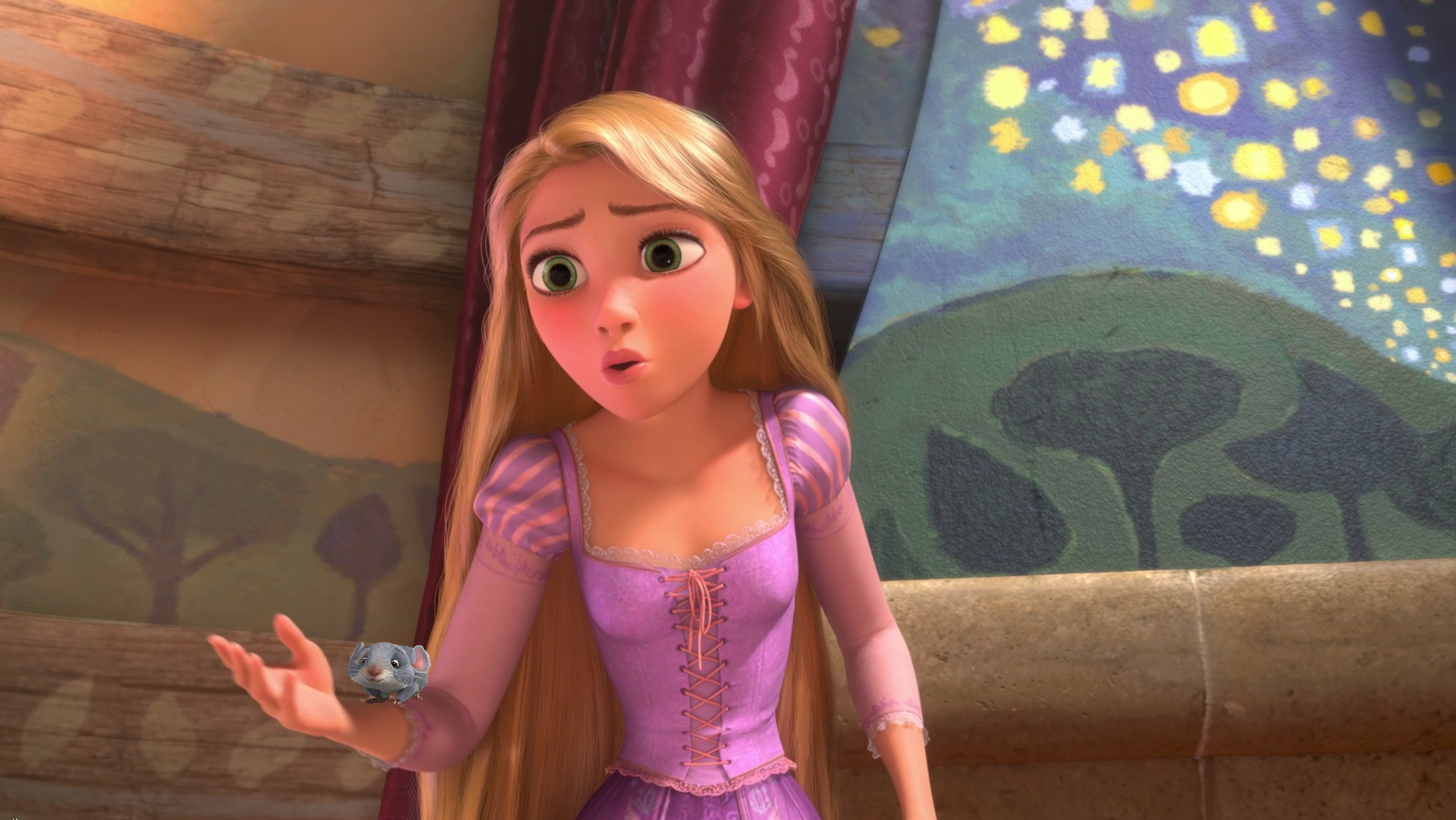 """""""Can we keep him, Mother Gothel; please?"""""""