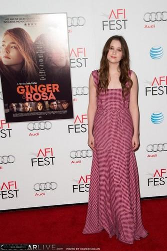 'Ginger and Rosa' Special Screening - AFI FEST 2012 (November 7, 2012)