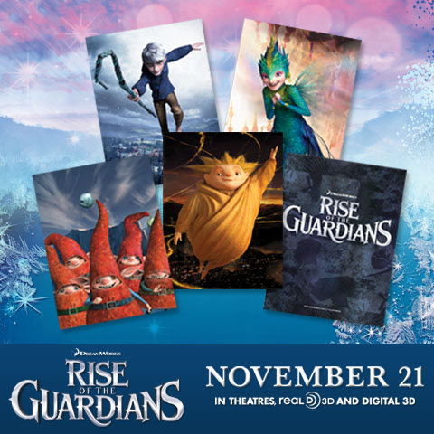 ★ Rise of the Guardians poster☆