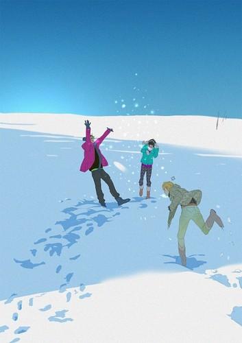~Snowball Fight~