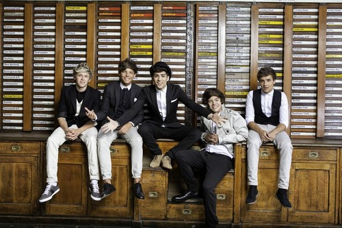 One Direction wallpaper probably containing a business suit entitled  'Take Me Home' Photoshoot