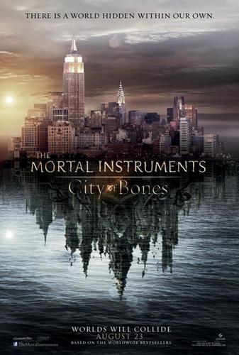 'The Mortal Instruments: City of Bones' official teaser poster