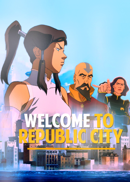 Avatar the legend of korra welcome to republic city
