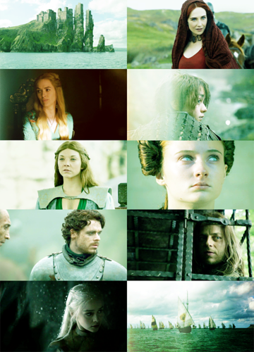 (seafoam green) + (game of thrones) / color picspam meme