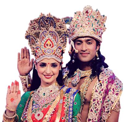 @the Diwali event of estrela Plus