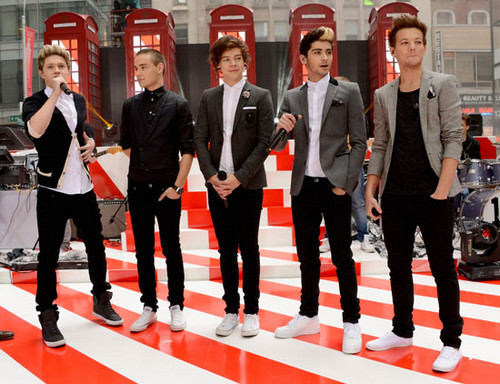 1D on the Todays montrer