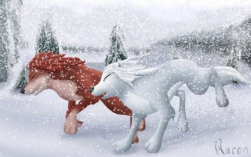 A winter run