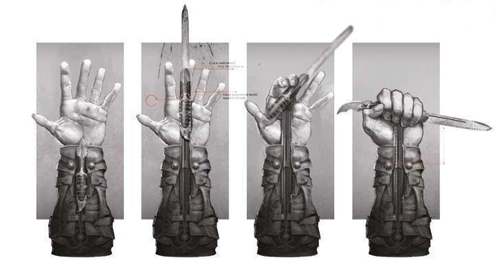 Hidden Blade Types Secondary Hidden Blade