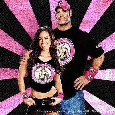 Aj Lee And John Cena