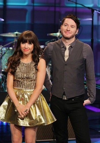 Adam Young and Carly Rae Jepsen