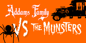 Addams and Munster sign