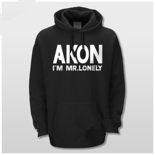 akon I'm Mr. Lonely pullover hoodie