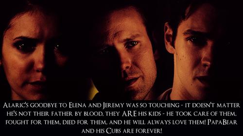 Alaric, Jeremy & Elena