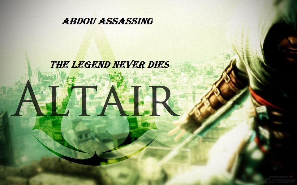 Altair The Assassin S Wallpaper 32781796 Fanpop