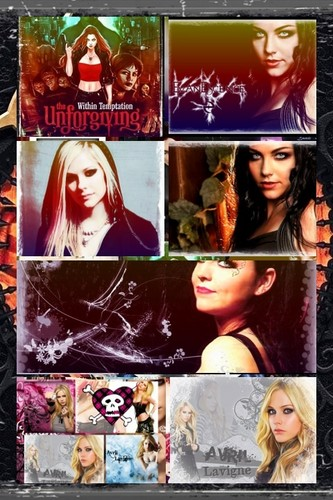 Amy Lee, Avril Lavigne & Sharon! ;) **^^**