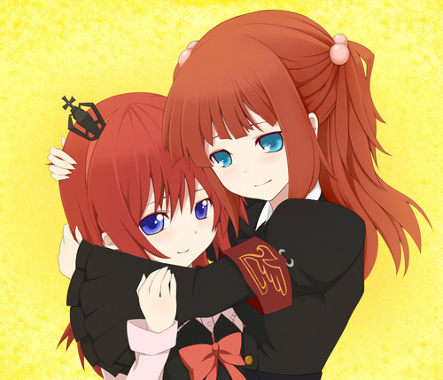 Ange and Maria Ushiromiya