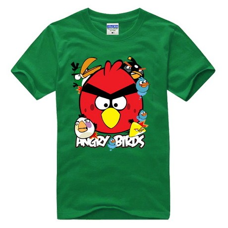 Angry Birds Big Logo short sleeve T camicia