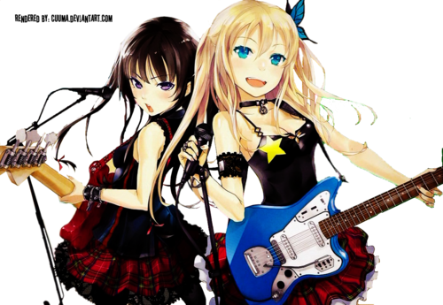 Anime Girl Guitar