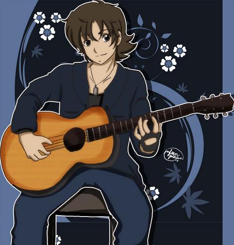 animé Guy guitare