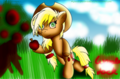 Apple jack - my-little-pony fan art