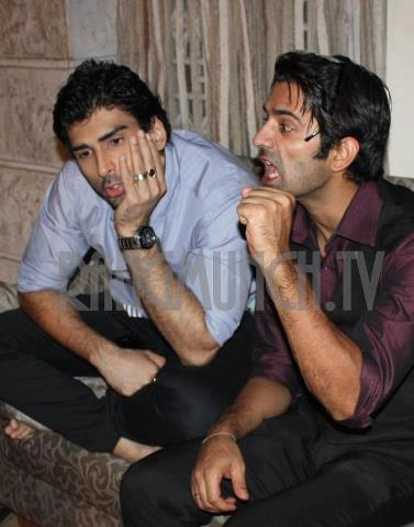Arnav and Akash