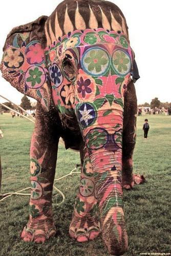 Art on हाथी
