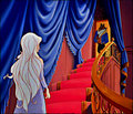 Ascending the stairs - disney-crossover photo