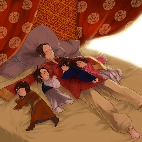 Asian Family Hetalia Fan Art 32704443 Fanpop